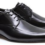 Sapato Derby Masculino Philip Preto