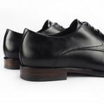 Sapato Derby Masculino Preto Olavo