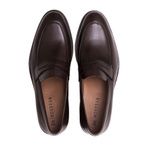 Sapato Loafer Masculino Damon Café