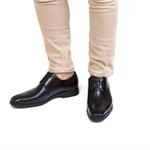 Sapato Derby Masculino James Preto