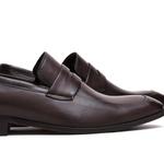 Sapato Loafer Masculino Rossi Café