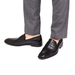 Sapato Loafer Masculino Rossi Preto