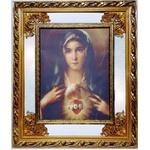 Quadro Coração De Maria