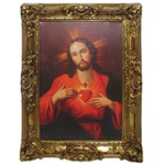 Quadro Clássico - Sacred Heart Of Jesus By Carl Dietrich