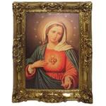 Quadro Clássico - Sacred Heart Of Mary