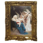 Quadro Clássico - Song Of The Angels, Le Chant Des Anges, William-adolphe Bouguereau