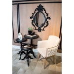 Espelho Oval Lavanda
