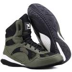 Bota de Treino Musculação Mr Gutt - New Collection / Verde Militar Camuflado