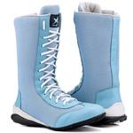 Bota Feminina de Treino Cano Alto Mr Gutt Azul Bebê - New Collection