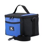 Bolsa Térmica Fitness Marmita - Preto/Azul