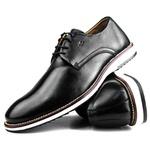 Brogue Premium Couro Comfort Preto Andora 8004