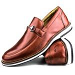 Brogue Premium Couro Comfort Havana Andora 8006