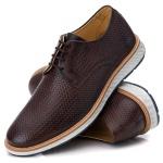 9004 Loafer Elite Couro Premium Trice Cafe