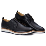 Loafer Elite Couro Premium Preto 9004