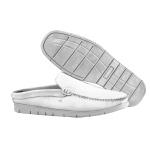 Mule Premium em Couro Floater Diamante Branco Capri 351