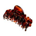 Prendedor Grande 9,0x3,0cm Tartaruga de Acetato Musa Kalliopi