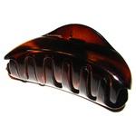 Prendedor Grande 8,0x4,0cm Tartaruga de Acetato Musa Kalliopi