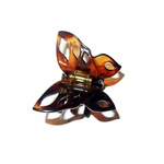 Prendedor Pequeno 4,0x2,0cm Tartaruga de Acetato Musa Kalliopi