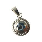 Pingente De Prata Olho Grego Azul: A Tendência Que Atrai Sorte E Proteção Semi Joias Finas Musa Kalliopi