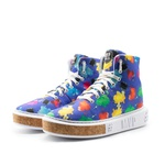 Tênis MVP Fashion Color - Splatter Blue