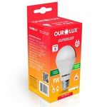 Lâmpada Bulbo LED 9W/6500K Bivolt Ourolux