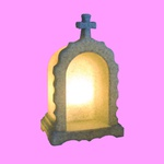 Luminária Oratório de Mesa Granito