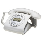 Telefone Com Fio Retrô Intelbras TC 8312 Branco