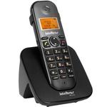 Telefone Intelbras Sem fio Digital TS5120 Preto