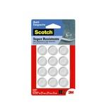 Protetor Anti-Impacto 3M Scotch™ Redondo Médio - 12 unidades