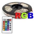 FITA DE LED IP65 5M RGB C/FONTE E CONTROLE