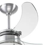 Ventilador de Teto Tron Chanceler Transparente 110V 59.01-1075