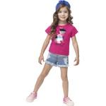 Blusa Kyly Infantil Feminina Gato 4-6-8