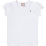 Blusa Milon Infantil Feminina Branca
