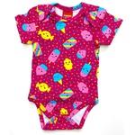 Body Kyly Bebê Feminino Pink