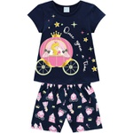 Pijama Kyly Infantil Feminino Princesa