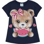 Pijama Kyly Bebê Feminino Melancia 1-2-3