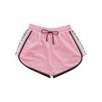 Short Fakini Infantil Feminino 12 ao 16 Rosa Neon
