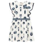 Vestido Milon Infantil Feminino 4-6-8