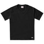 Camiseta Milon Infantil Lisa Preta