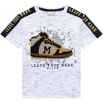 Camiseta Milon Infantil Masculina Bordada