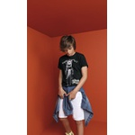Camiseta Lemon Infantil Masculina 12 ao 20 Preta - Moto