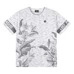 Camiseta Lemon Infantil Masculina 12 ao 20 Branca