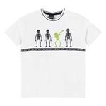 Camiseta Lemon Infantil Masculina 4-6-8 Esqueletos