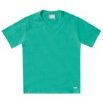 Camiseta Milon Bebê Masculina 1-2-3 Verde