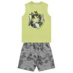Conjunto Fakini Infantil Masculino 12-14-16 Regata Verde