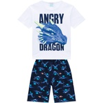 Pijama Kyly Masculino Infantil Dragão
