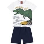 Conjunto Kyly Bebê Masculino Dino 1-2-3