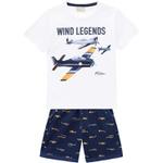 Conjunto Milon Bebê Masculino Estampa Avião