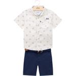 Conjunto Milon Bebê Masculino Camisa + Bermuda