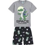 Pijama Kyly Bebê Masculino 1-2-3 Jacaré